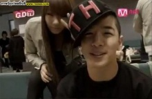 Big Bangแทยัง และ2NE1 ซีแอล กับภาพคู่ สนิทสนม