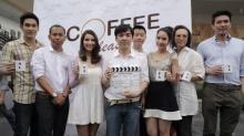 บวงสรวง Coffee Please  อ๋อม – ปิ๊บ – จั๊กจั่น นำทีม จิบกาแฟแกล้มไอรัก