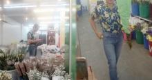 เอาไปให้ใครนะ? พระเอกซุปตาร์ใส่เสื้อลายดอก โผล่ซื้อดอกกุหลาบปากคลองตลาด