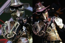 หน้ากากอีกาเหล็ก The Mask Project A คว้าที่ 3 ไปครอง(คลิป)