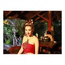ส่องเบลล่า  ราณี ในมาดสาวชาวเหนือ ในเบื้องหลังเพลิงฉิมพลี