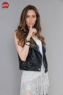 """""""ซาบีน่า รับตื่นเต้นชิมลางการแสดงเรื่องแรกใน  Gossip girl Thailand"""""""