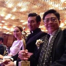 อั้ม ควง นัท บิน ญี่ปุ่ร รับรางวัล ละครต่างชาติยอดเยี่ยมจากเรื่อง ขุนศึก