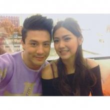 Pic : หวานเว่อร์คู่รักนักร้อง โดม - เมทัล @IG