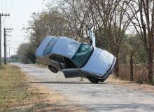'ยุ้ย' เสี่ยงตายเข้าฉากรถคว่ำ จุดเริ่ม 'ผีลั่นทม' ใน 'สุสานฯ'
