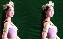 เปิดภาพ แต้ว สวยอลังกาลในชุดไทย
