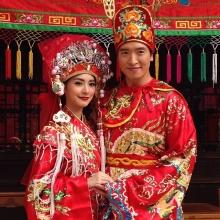 มิว นิษฐา เข้าฉากแต่งงานตามประเพณีจีนกับชาย ชาตโยดม ใน รักออกฤทธิ์