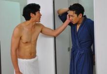 """""""ไนกี้-แกงส้ม"""" ชวนกันอาบน้ำ!! อวดหุ่นฟิตเอาใจสาว"""