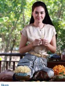 แมท ภีรณีย์ ใน บท เจ้าลำดวน สาวไทยสมัย ต้นรัตนโกสินทร์