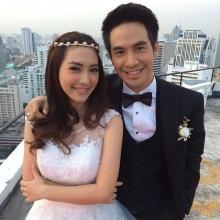 สวย-หล่อ ชวนจิ้น โป๊บ-มิว เข้าฉาก แต่งงาน ในละคร รักออกฤทธิ์