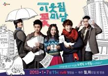 เรื่องย่อ ซีรี่ย์เกาหลี Flower Boy Next Door