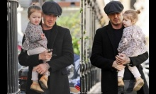 ภาพน่ารัก : เดวิด เบ็คแฮม ใช้เวลากับลูกสาวในวันหยุด