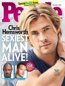 สาวกรี๊ด!  คริส เฮมส์เวิร์ธ คือสุดยอดผู้ชายเซ็กซี่ที่มีอยู่จริง!