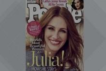 พีเพิ้ลยกจูเลีย โรเบิร์ตส์ผู้หญิงสวยที่สุดในโลก.