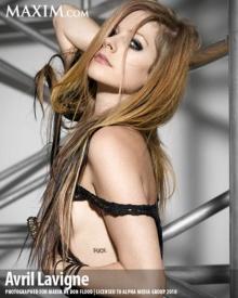 ♥ Avril Lavigne บนปก Maxim ♥