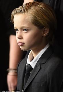 ไชโลห์ลูกสาวโจลีพิตต์ เป็นทอมเต็มตัวหล่อแย่งซีนพี่ชาย