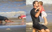 น่ารักอะ! คริส เฮ้มสเวิร์ธ ในมุมอบอุ่นกับลูกสาวตัวน้อย