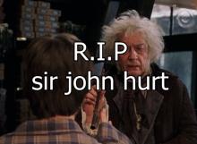 เซอร์ จอห์น เฮิร์ท นักทำไม้กายสิทธิ์ จาก Harry Potter เสียชีวิตแล้ว !!