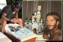 น่ารักอะไรเบอร์นั้น!! David Beckham ใช้เวลากว่า 6 วัน ต่อปราสาทเจ้าหญิงให้ลูกสาว!!