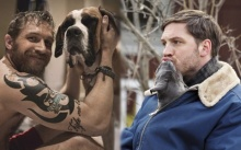"""ผู้ชายรักสัตว์!!! """"ทอม ฮาร์ดี้"""" กับลูกสุนัขที่ใครเห็นเป็นต้องละลาย"""