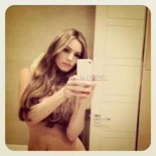 นางแบบเซ็กซี่ดังถ่ายรูปเปลือยผ่านทวิตเตอร์ หลังถูกเพื่อนตลกท้าทาย