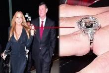 ซูม!'แหวนหมั้น ขุ่นแม่'มาราย แคร์รี่' 'เพชรเม็ดเท่าบ้าน!
