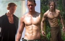 วิวัฒนาการหุ่นแซ่บๆ ของ Alexander พระเอก Tarzan 2016