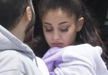 ภาพล่าสุดของ อาเรียนา แกรนเด หลังจากเหตุการณ์ระเบิดคอนเสิร์ต