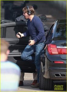 ภาพล่าสุด ทอม ครูซ กับเบื้องหลังการถ่ายภาพยนตร์ Mission: Impossible 5
