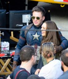 เบื้องหลังจากกองถ่าย Captain America
