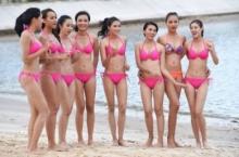 แอบส่อง!! สาวๆ มิสยูนิเวิร์สเวียดนาม 2015 อวดเซ็กซี่ริมชายหาด!!