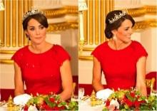 'เจ้าหญิงเคท' ทรงพระสิริโฉม ในราตรียาวสีแดง และ มงกุฎเพชร เก่าแก่