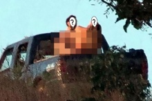 แชร์ว่อนภาพหลุดสยิว! ดารานางงาม ควงหนุ่มหล่อมีเซ็กซ์ท้ายรถ