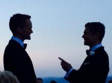 """""""นีล แพทริค แฮร์ริส"""" แต่งงานกับแฟนหนุ่มแล้วที่อิตาลี"""