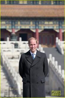 เจ้าชายวิลเลียม เดินทางเยี่ยมประเทศจีน!