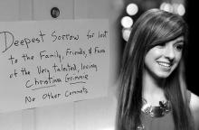 """บุกบ้าน""""คนร้าย"""" ที่ยิง Christina Grimmie พบกระดาษโน้ตแผ่นนี้ !!"""