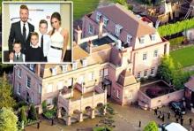 """บ้านของ """"เบคแฮม"""" ที่อังกฤษหวิดโดนปล้น"""