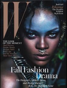 Rihanna กับแฟชั่นจาก W Magazine เล่มล่าสุด