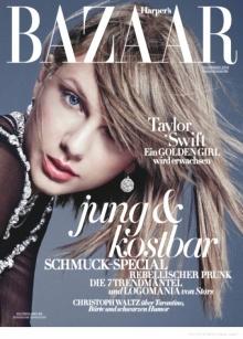 """แฟชั่นสุดชิคของ """"เทย์เลอร์ สวิฟต์"""" จาก Harper's Bazaar Germany"""