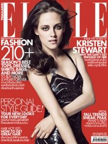 ปกนิตยสาร Elle KRISTEN STEWART