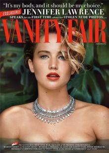 แฟชั่นสุดเซ็กซี่จาก เจนนิเฟอร์ ลอว์เรนซ์ ใน  Vanity Fair magazine