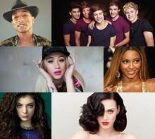 รายชื่อผู้เข้าชิงงาน American Music Awards 2014