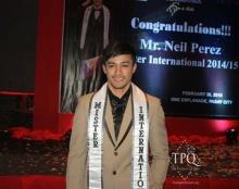 นีล เปเรซ หนุ่มหล่อดีกรี Mister International 2014!