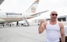 วิน ดีเซล ร่วมเปิดตัวเครื่องบินโบอิ้ง Fast & Furious