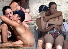 จัดไปอีกเซ็ต!! ออเลนโด้ บลูม อวดก้นขาวๆ นัวเคที่ เพอร์รี่ ริมหาด!!