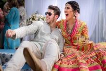"""อลังการ! งานแต่ง """"โจนาส-โจปรา"""" กลางพระราชวังอินเดีย"""