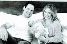 ฮิลารี่ ดัฟฟ์ จัดเต็มโชว์รูปครอบครัวครั้งแรก
