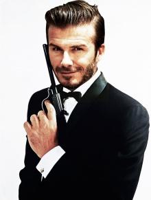 เดวิด เบ็คแฮม อยากเป็นพระเอก เจมส์ บอนด์