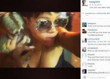วิจารณ์สนั่นเน็ต นักร้องสาวระดับโลกริฮันน่า ถ่ายภาพกับลิงลมที่ภูเก็ต ผิดกฏหมาย!!