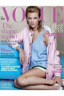 สวยสดใส กับ เทย์เลอร์ สวิฟต์ บนปก Vogue British